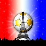 Campeonato europeo Francia del fútbol Imagen de archivo libre de regalías