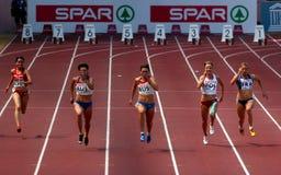 Campeonato europeu da equipe do ESPATO Foto de Stock Royalty Free