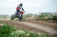 Campeonato europeu do leste 2013 de Supermoto Fotos de Stock