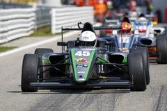 Campeonato F4 italiano posto por Abarth foto de stock