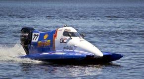 Campeonato grande do mundo da fórmula 1 H2O de Prix Foto de Stock