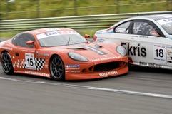 Campeonato holandés GT4 Fotografía de archivo libre de regalías
