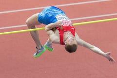 Campeonato interior 2015 del atletismo europeo Foto de archivo libre de regalías