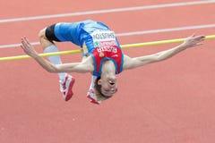 Campeonato interior 2015 del atletismo europeo Imágenes de archivo libres de regalías