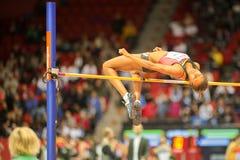 Campeonato interior europeo 2013 del atletismo Fotos de archivo