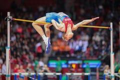 Campeonato interior europeo 2013 del atletismo Fotos de archivo libres de regalías