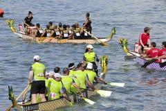 Campeonato internacional 2012 do barco do dragão fotografia de stock