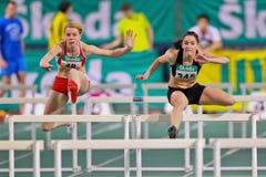 Campeonato interno 2011 do atletismo Imagem de Stock