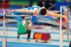 Campeonato interno europeu 2013 do atletismo Fotografia de Stock