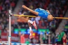 Campeonato interno europeu 2013 do atletismo Fotos de Stock
