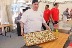 Campeonato italiano absoluto de la pizza imágenes de archivo libres de regalías