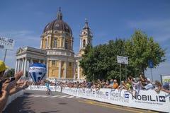 Campeonato italiano de ciclagem 2015 Imagens de Stock Royalty Free