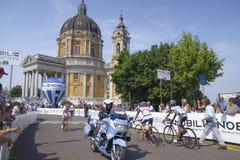 Campeonato italiano de ciclagem 2015 Fotos de Stock
