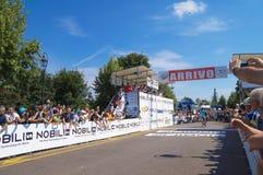 Campeonato italiano de ciclagem 2015 Foto de Stock