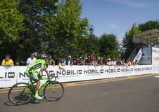 Campeonato italiano de ciclagem 2015 Fotografia de Stock