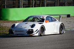 Campeonato italiano 2015 de Porsche GT3R GT Foto de archivo libre de regalías