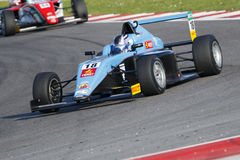 Campeonato italiano F4 accionado por Abarth Fotos de archivo libres de regalías