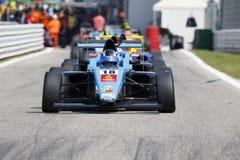 Campeonato italiano F4 accionado por Abarth Foto de archivo libre de regalías