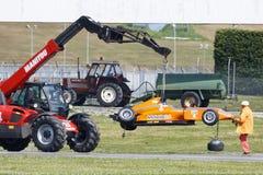 Campeonato italiano F4 accionado por Abarth Fotografía de archivo
