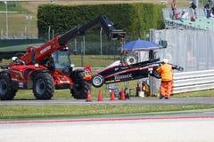 Campeonato italiano F4 accionado por Abarth Foto de archivo