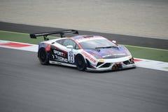 Campeonato italiano Lamborghini Gallardo de GT en Monza Imagen de archivo libre de regalías