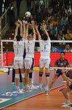 Campeonato italiano: Salva de Trentino contra Macerata Foto de Stock Royalty Free