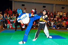 campeonato kickboxing 2011 del tercer mundo Fotografía de archivo
