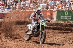 Campeonato magnífico del mundo del motocrós de la FIM de Prix Rusia Fotografía de archivo libre de regalías