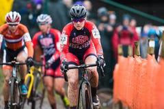 Campeonato mundial Cyclocross - Heusden-Zolder de UCI, Bélgica foto de stock royalty free