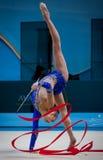Campeonato mundial da ginástica rítmica Imagem de Stock