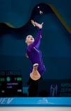 Campeonato mundial da ginástica rítmica Fotos de Stock