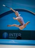 Campeonato mundial da ginástica rítmica Foto de Stock Royalty Free