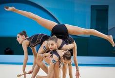 Campeonato mundial da ginástica rítmica Fotografia de Stock
