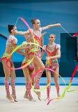 Campeonato mundial da ginástica rítmica Fotos de Stock Royalty Free