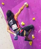 Campeonato mundial de escalada Fotos de Stock