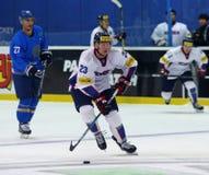 Campeonato mundial 2017 do hóquei em gelo Div 1 em Kyiv, Ucrânia Fotografia de Stock
