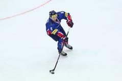 Campeonato mundial 2017 do hóquei em gelo Div 1 em Kyiv, Ucrânia Fotos de Stock Royalty Free