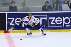 Campeonato mundial 2017 do hóquei em gelo Div 1A em Kyiv, Ucrânia Fotos de Stock Royalty Free