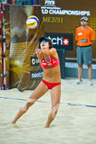 Campeonato mundial do voleibol de praia 2011 - Roma, Itália Fotografia de Stock Royalty Free