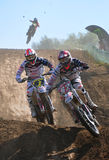 Campeonato mundial MX3 do motocross fotos de stock royalty free