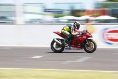 Campeonato mundial 1000 - raça do Superstock da FIM Imagens de Stock Royalty Free
