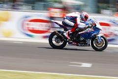 Campeonato mundial 1000 - raça do Superstock da FIM Fotos de Stock Royalty Free