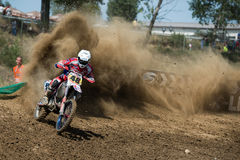 Campeonato MX3 e WMX do mundo do motocross, Slovakia Fotos de Stock Royalty Free