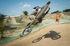 Campeonato MX3 y WMX, Eslovaquia del mundo del motocrós Fotos de archivo libres de regalías