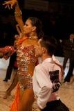 Campeonato nacional 1 da dança de salão de baile Imagem de Stock