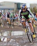 campeonato nacional da Ciclo-cruz - homens da elite Foto de Stock Royalty Free