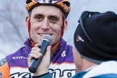 campeonato nacional da Ciclo-cruz - homens da elite Fotografia de Stock Royalty Free
