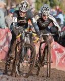 campeonato nacional da Ciclo-cruz - mulheres da elite Fotografia de Stock