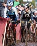 campeonato nacional da Ciclo-cruz - mulheres da elite Fotografia de Stock Royalty Free