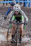 campeonato nacional da Ciclo-cruz - mulheres da elite Fotos de Stock